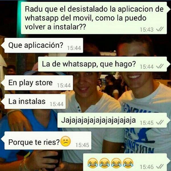 Instalando Whatsapp Humor Memes Lol