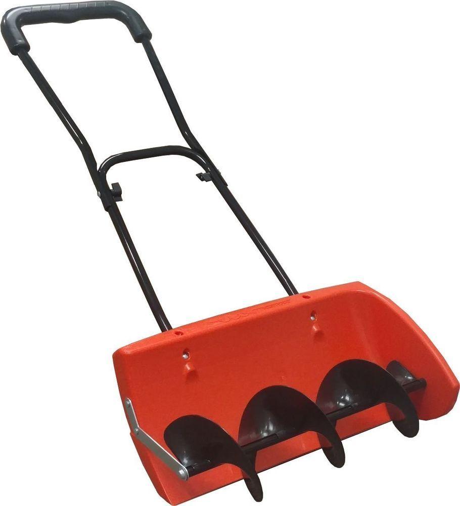 Snow Shovel Blower Thrower Plow Pusher Ergonomic Wide Heavy Duty Snowplow Tools #SnowShovel