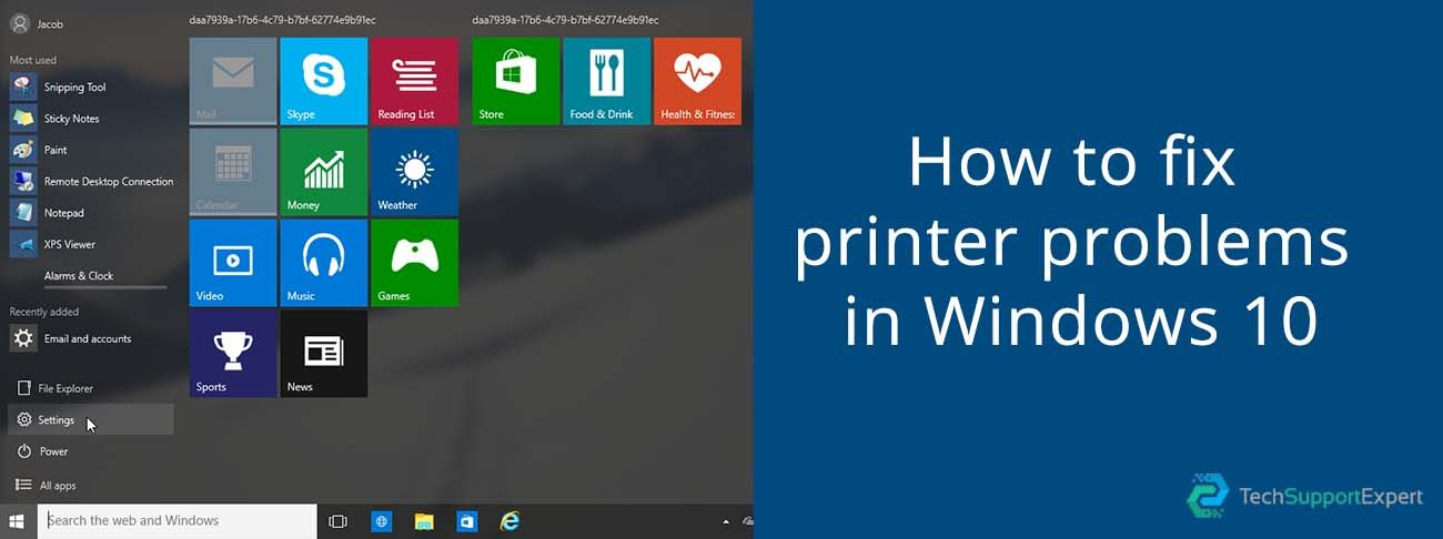 How to Fix Printer Not Working Issue in Windows 10