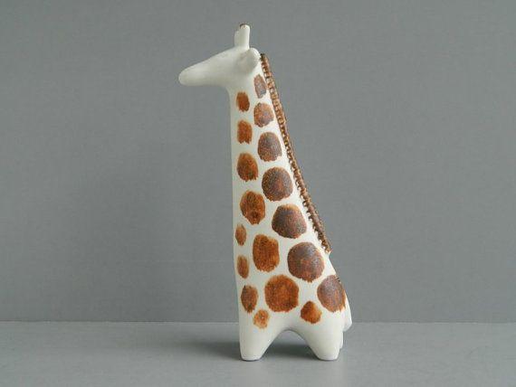 Giraffe Print Ottoman