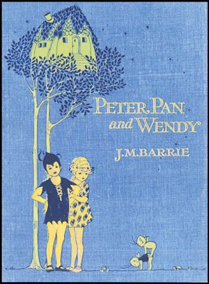 PETER PAN AND WENDY by J. M. BARRIE - Illustrated by MABEL LUCY ATTWEL -  circa 1921