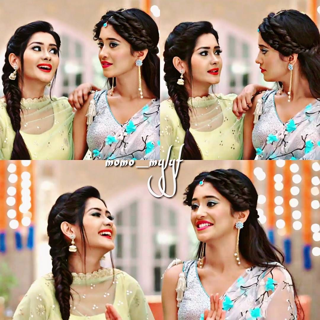 sisters and their #cute #smiley faces... #bestbonding ever #naira ...