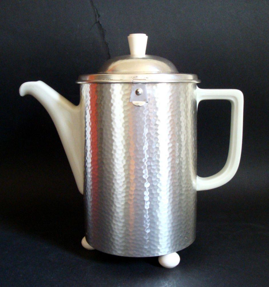 wmf hutschenreuther d r p kaffeekanne thermisol vintage coffee pot art deco top acqua caff. Black Bedroom Furniture Sets. Home Design Ideas