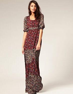 Maxi dress pinterest 70