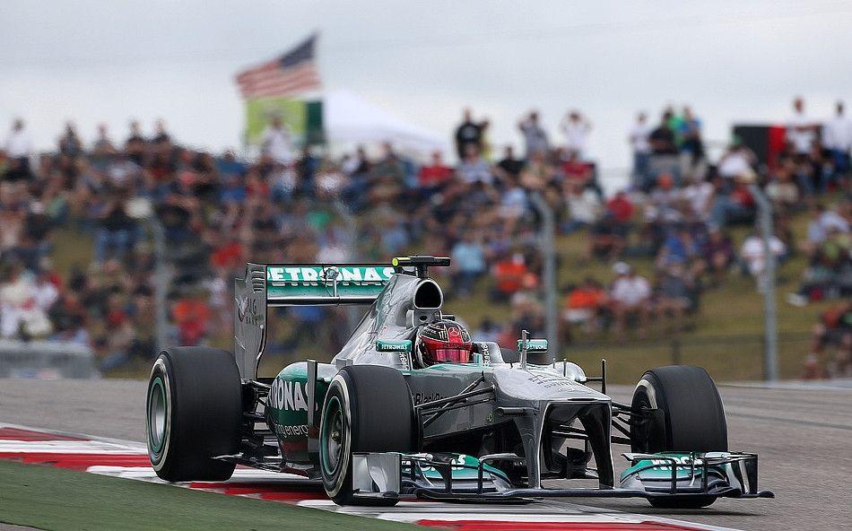 Formel 1 2013, US GP, Austin, Texas, Lewis Hamilton, Mercedes AMG