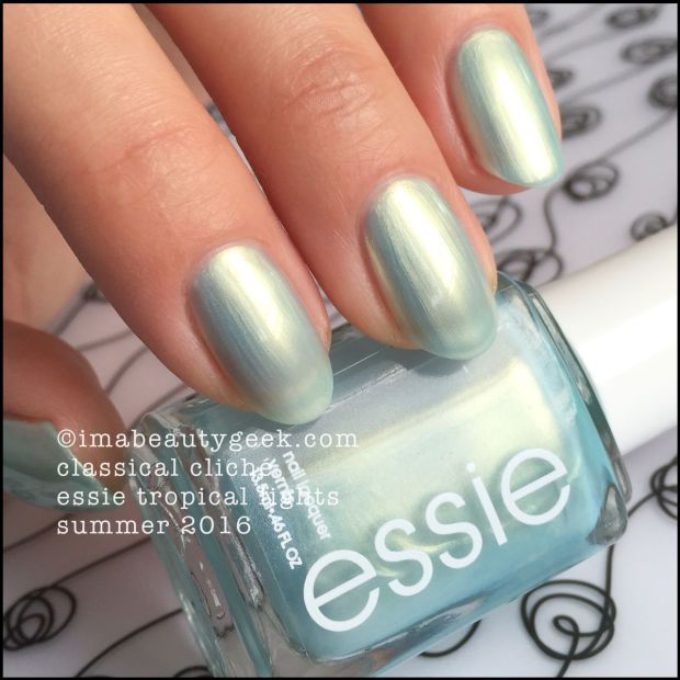 Essie Clical Cliché 1172 Tropical Lights Collection 2016