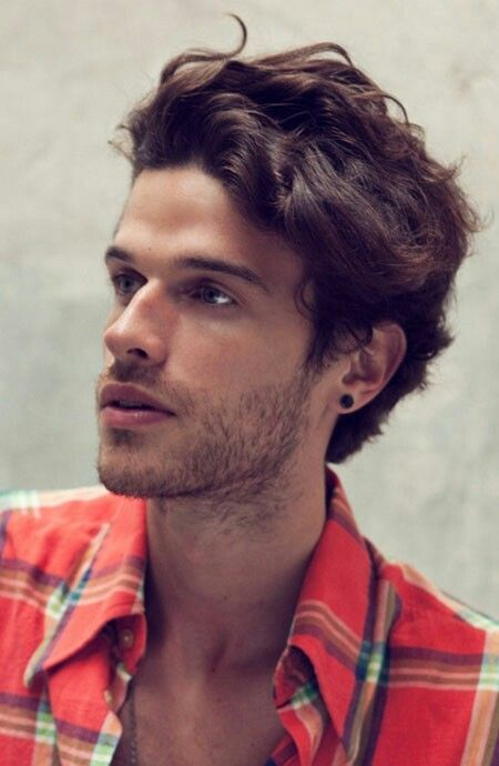 Mens Wavy Hairstyles Unique Pinpatrick Hoy On Summer 2016 Men's Hairstyles  For Wavy