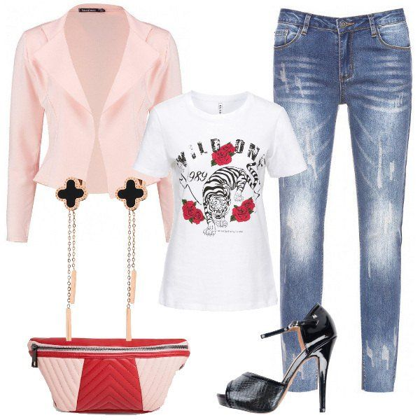 Photo of T-shirt di sera: outfit donna Trendy per serata fuori | Bantoa