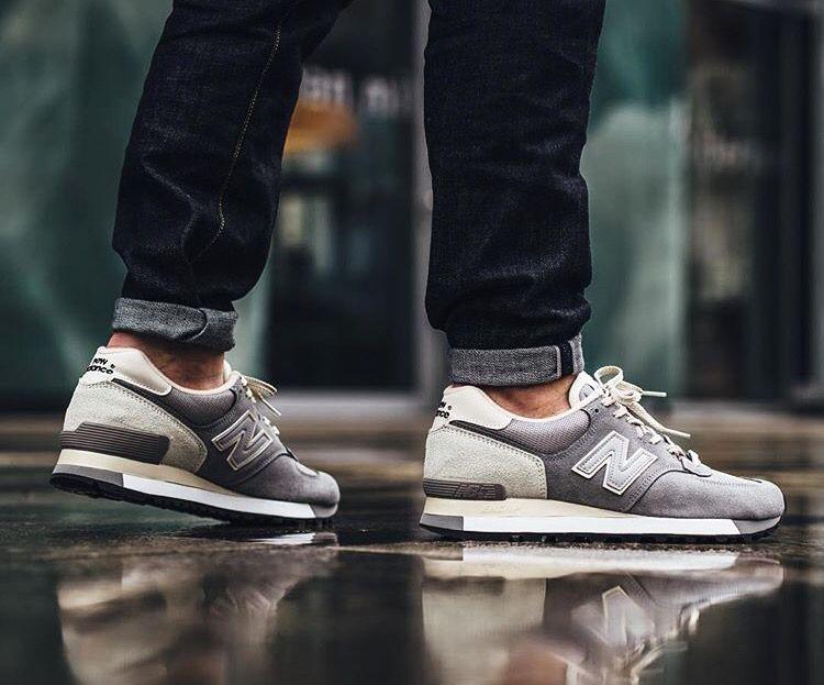New Balance 575 'Made in England' Grey; Feb2016.   Sneaker