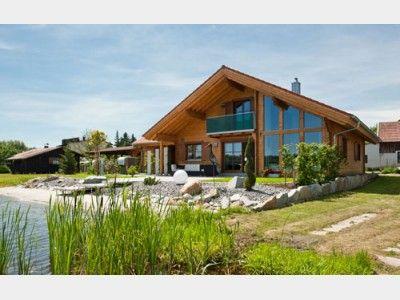 Modern und nat rlich einfamilienhaus von rubner haus ag for Landhaus modern bauen