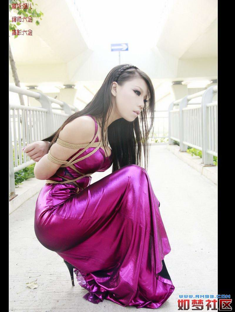 bondage | Satin Dress Bondage | Pinterest | Outdoors, Satin and Asian