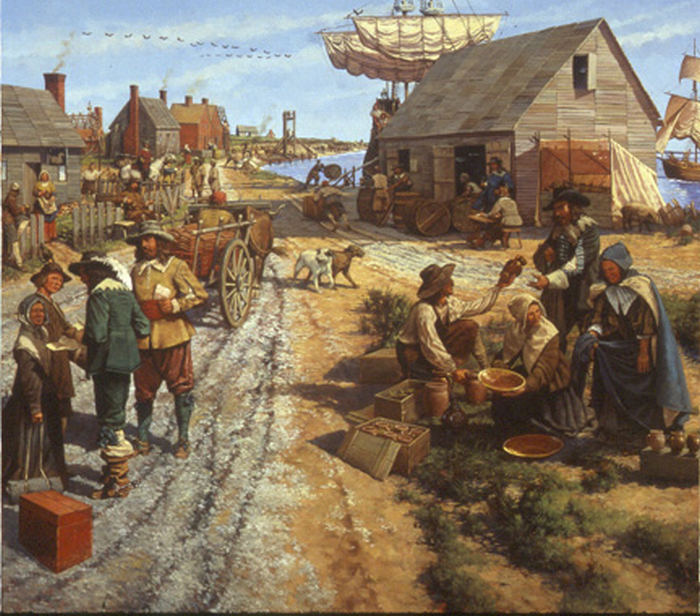 an overview of the settlement in jamestown in 1607 and treaty of paris in 1763 The battle of yorktown and the treaty of paris lesson summary let's review in 1607  the settlement of jamestown colony related study materials.