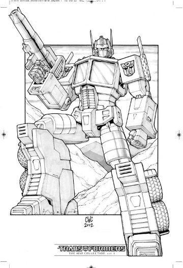 imagenes de transformers optimus prime para colorear | optimus ...