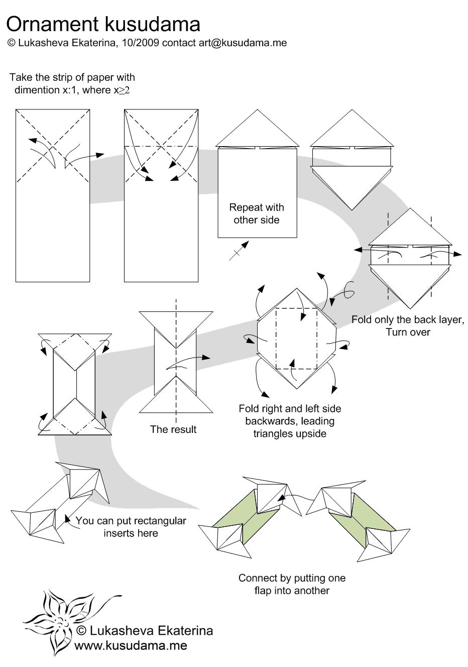 Diagram for ornament kusudama origami and papercrafts diagram for ornament kusudama pooptronica