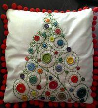 Cojin árbol de navidad