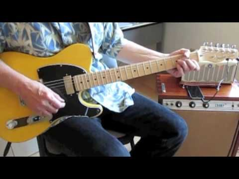 """Covers Keith Richards' solo and lead fills and the chord progression. US Tele with Lollar Special T into Yamaha THR5 on """"Crunch"""" (Vox AC-30) setting with Hal..."""
