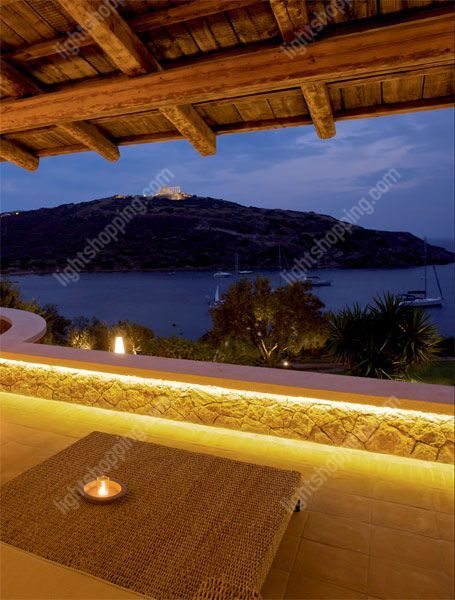 Outdoor led strip lights enchanting our garden pinterest outdoor led strip lights aloadofball Gallery