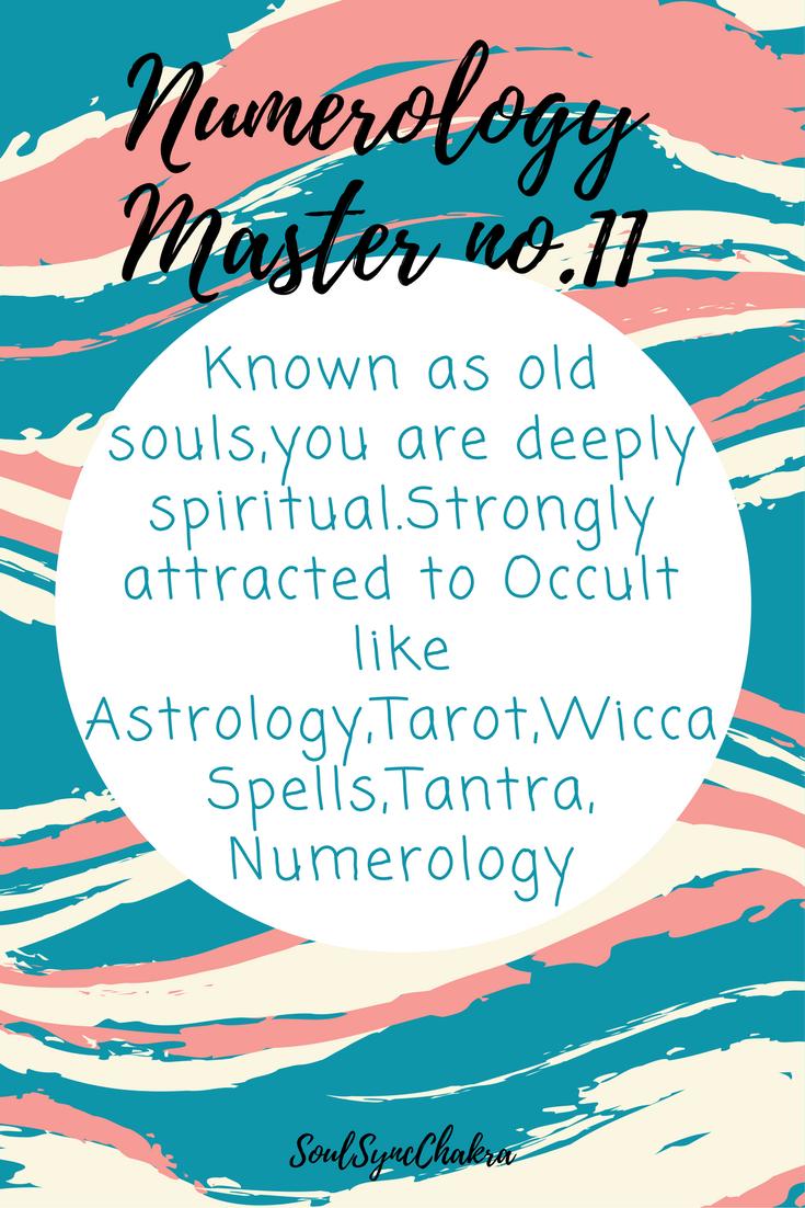 Numerology master number 11#numerology chart | Numerology