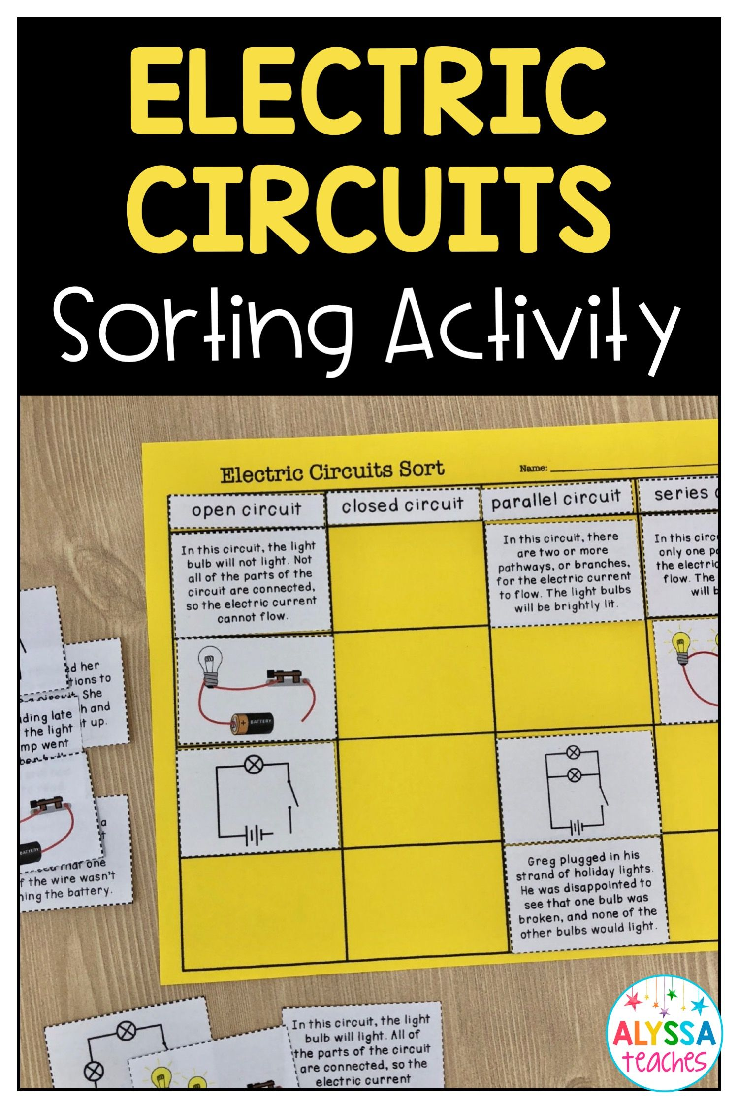 Open And Closed Circuits For Kids