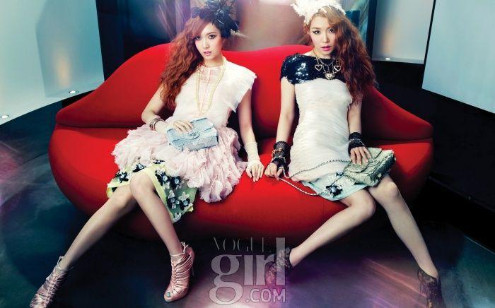 소녀시대 티파니와 제시카 Vogue Girl