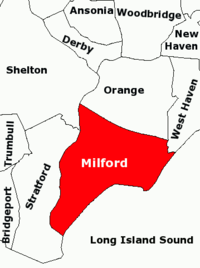 Milford Connecticut where I grew up in the 1940s 1950s