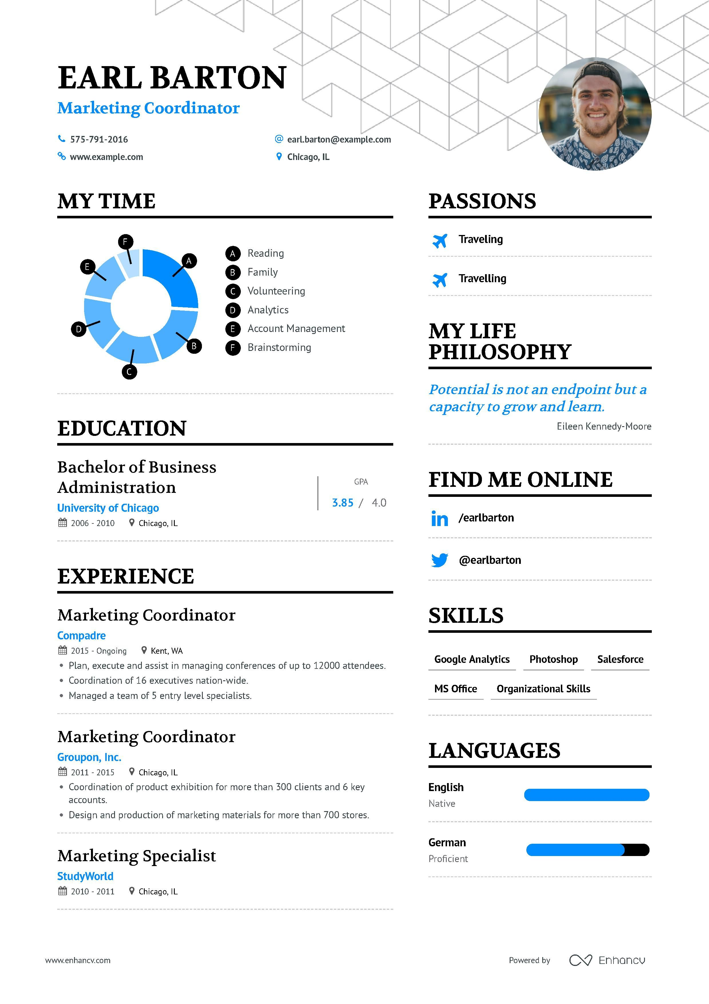 The Ultimate 2019 Guide For Marketing Coordinator Resume Examples