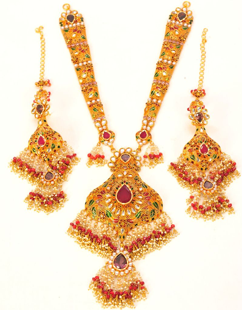 Product Name : WEDDING NECKLACES Category Name : Weeding Jewellery ...