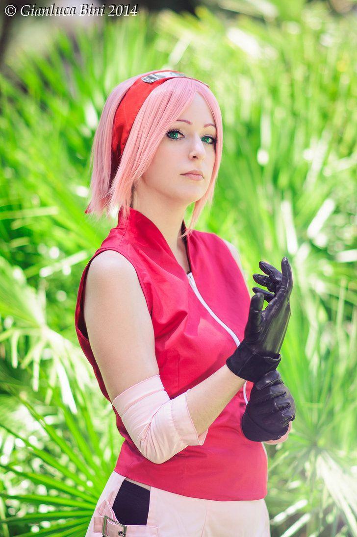 Sakura haruno shippuden cosplay