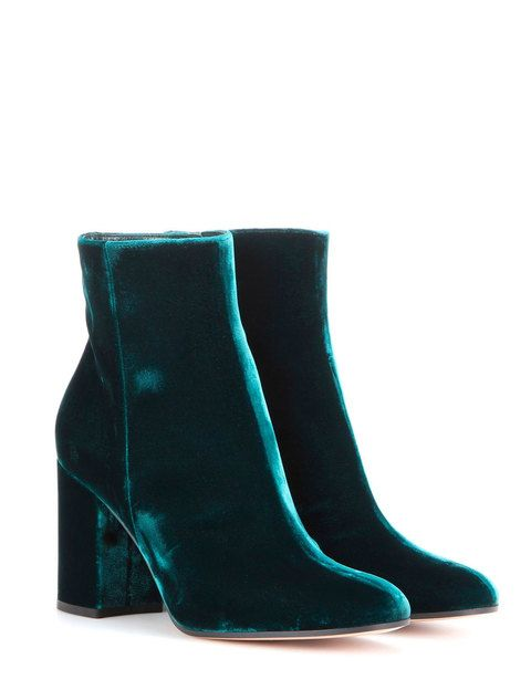 1d55c1b91343 15 Pairs of Velvet Shoes You ll Crush On This Fall Green Boots