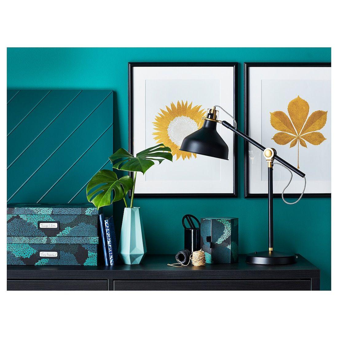Ranarp Lampe De Bureau Noir Ikea Lampe De Bureau Decoration Interieure Et Exterieure Lampes Noires