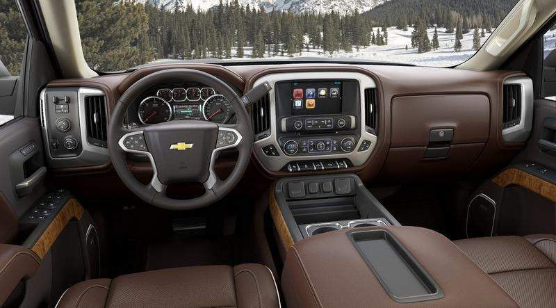 Gm Reveals Premium Pickup 2014 Chevrolet Silverado High Country