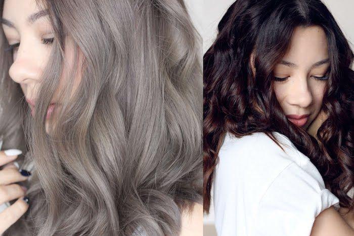 Welche Haarfarbe Past Zu Mir