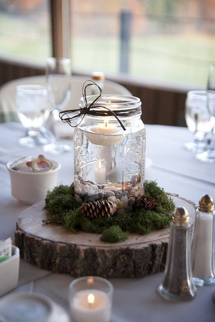 our centerpieces, photographed by Bri Herrman