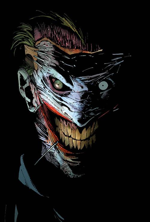 Evidentially the joker had his face cut off last year. I ...  Evidentially th...