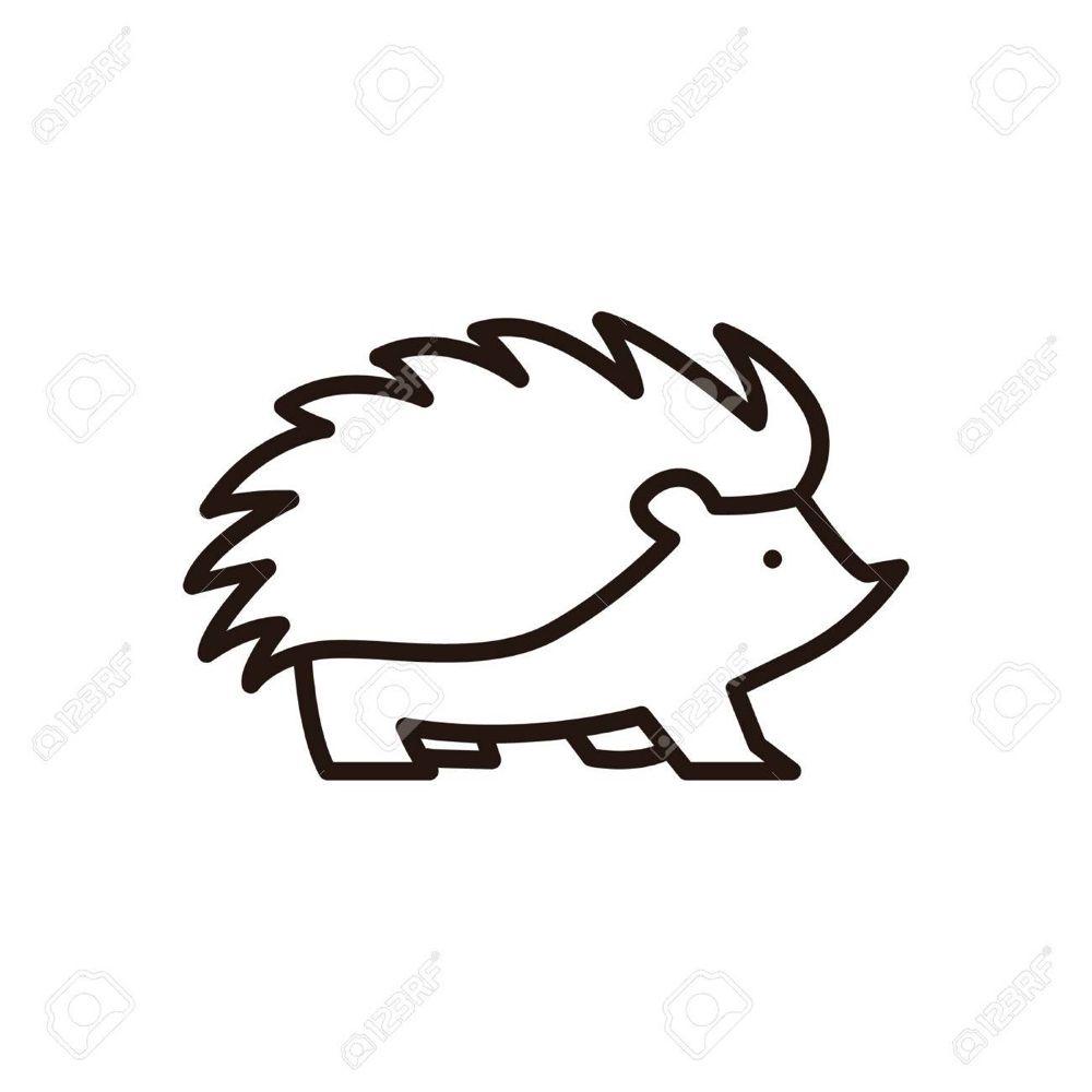 Hedgehog Icon Stock Vector 74439057 Icon Illustration Hedgehog Cute Hedgehog