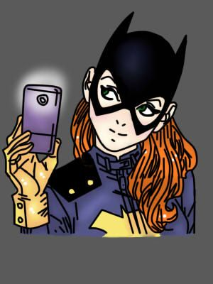 This Is My Fan Art Of Batgirl From The Selfie Cover Kap Chan