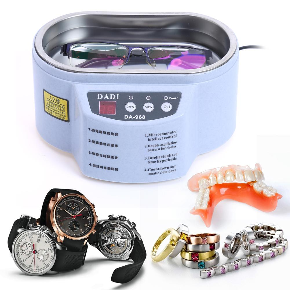 40khz 600ml Smart Ultrasonic Cleaner For Jewelry Glasses Circuit Oscillatory An Cleaning Device With Feedback Boards Ornament Toothbrush Board Machine