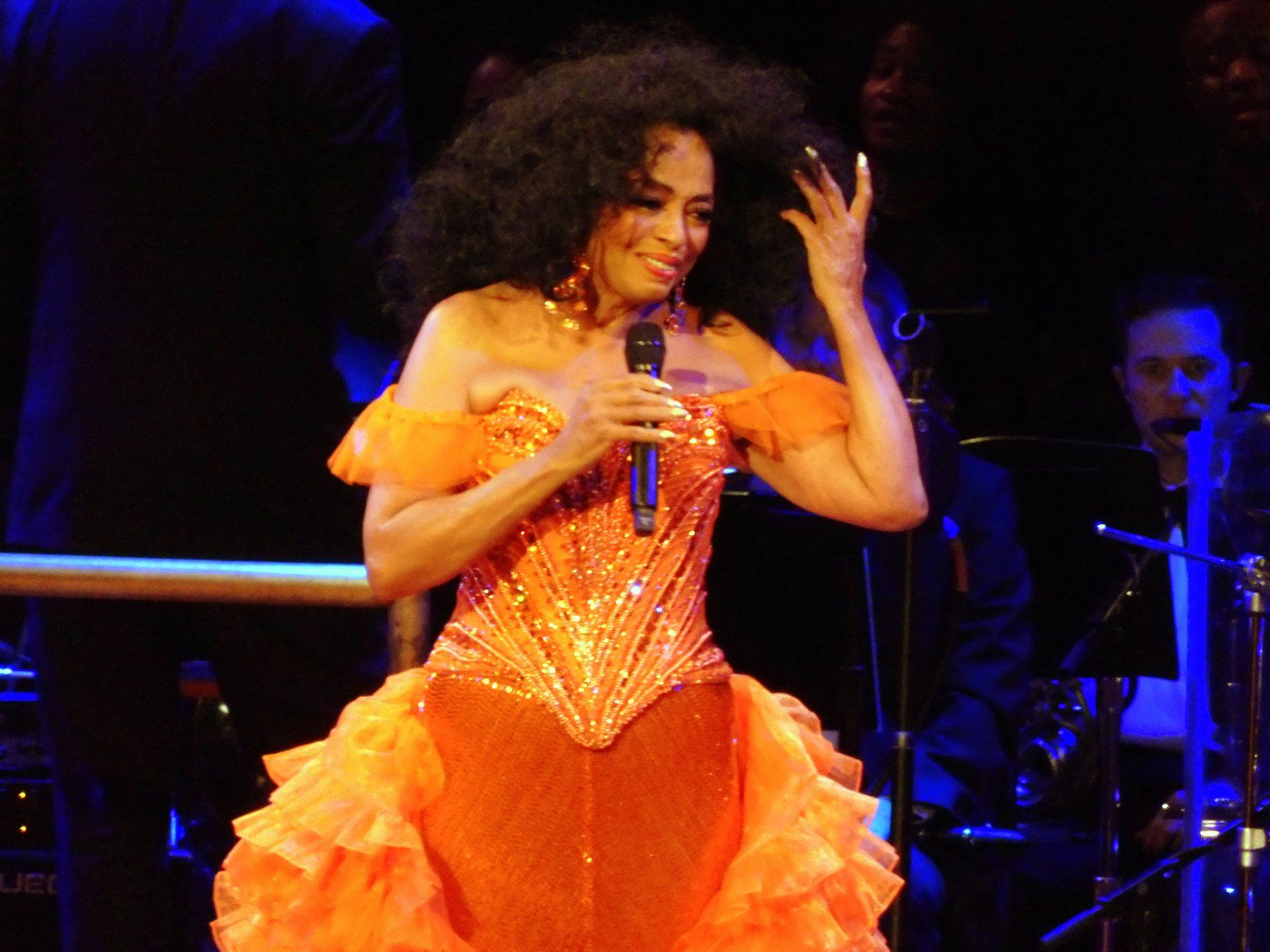 diana ross at kennedy center for the performing arts during her music book 2020 tour in washington dc on friday january 1 in 2020 diana ross performance art her music pinterest