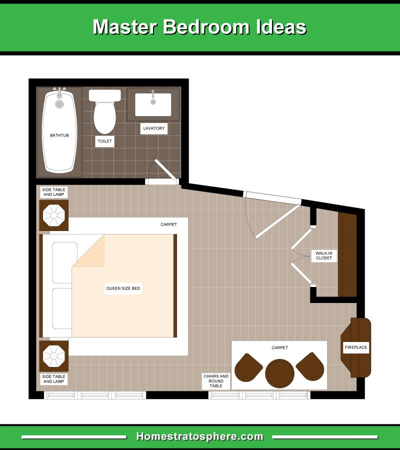 13 Primary Bedroom Floor Plans Computer Layout Drawings Master Bedroom Plans Bedroom Flooring Master Bedroom Layout