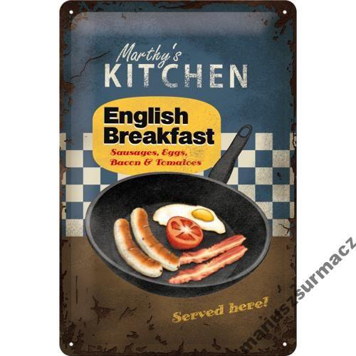 Metalowy Plakat Szyld Angielska Kuchnia Marty 3961683474 Oficjalne Archiwum Allegro English Breakfast English Food British Food