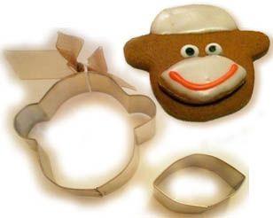 Sock Monkey Cookie Cutter!