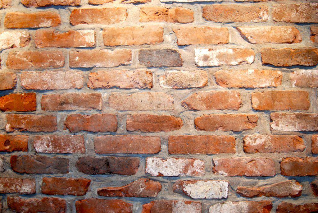 Faux Reclaimed Brick Veneer Fireplace