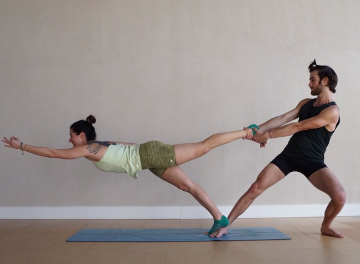 The 5 Best Partner Yoga Photos On Instagram Couples Yoga Poses Partner Yoga Poses Acro Yoga Poses