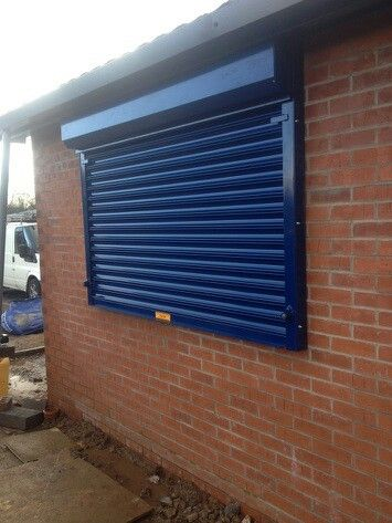 Security Serving Hatch At Sports Facility Www Worcesterdoors Co Uk Roller Doors Aluminum Shutters Roll Up Doors