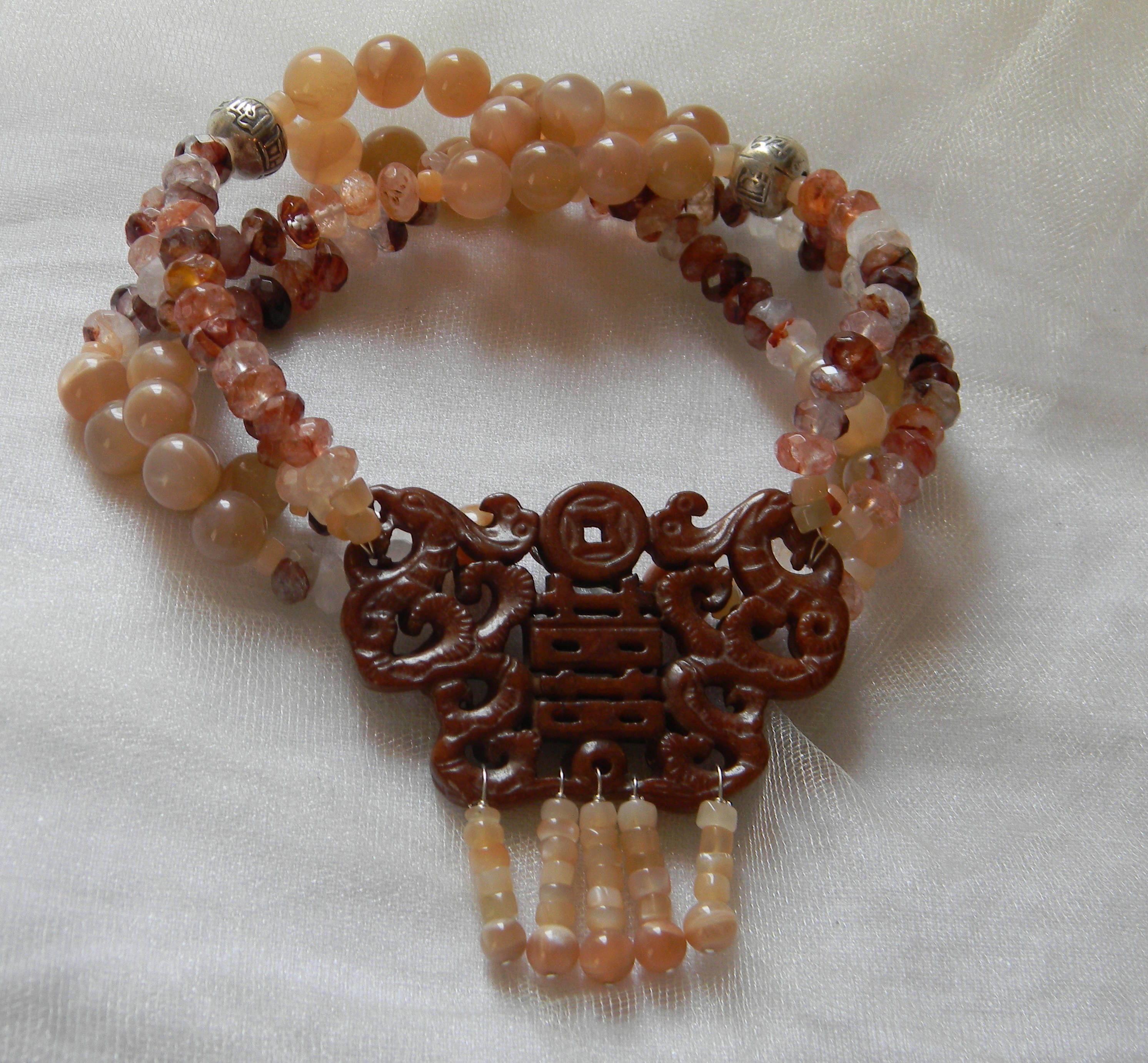 mala products moonstone beads crystal peach malas prickly carnelian healing sunstone dsc pendant warrior necklace pear sedona japa grounded
