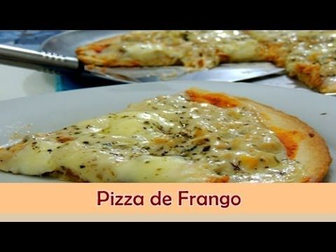 Pizza de Frango - Sabor no Prato