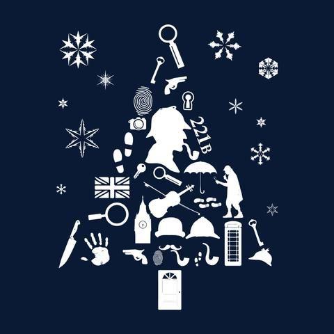Christmas Tree Sherlock Holmes