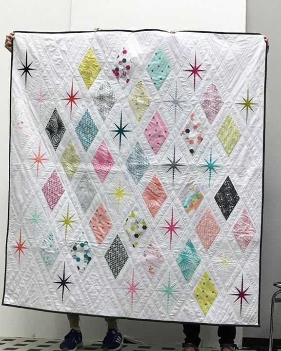 Palm Canyon The Atomic Starburst Quilt Great