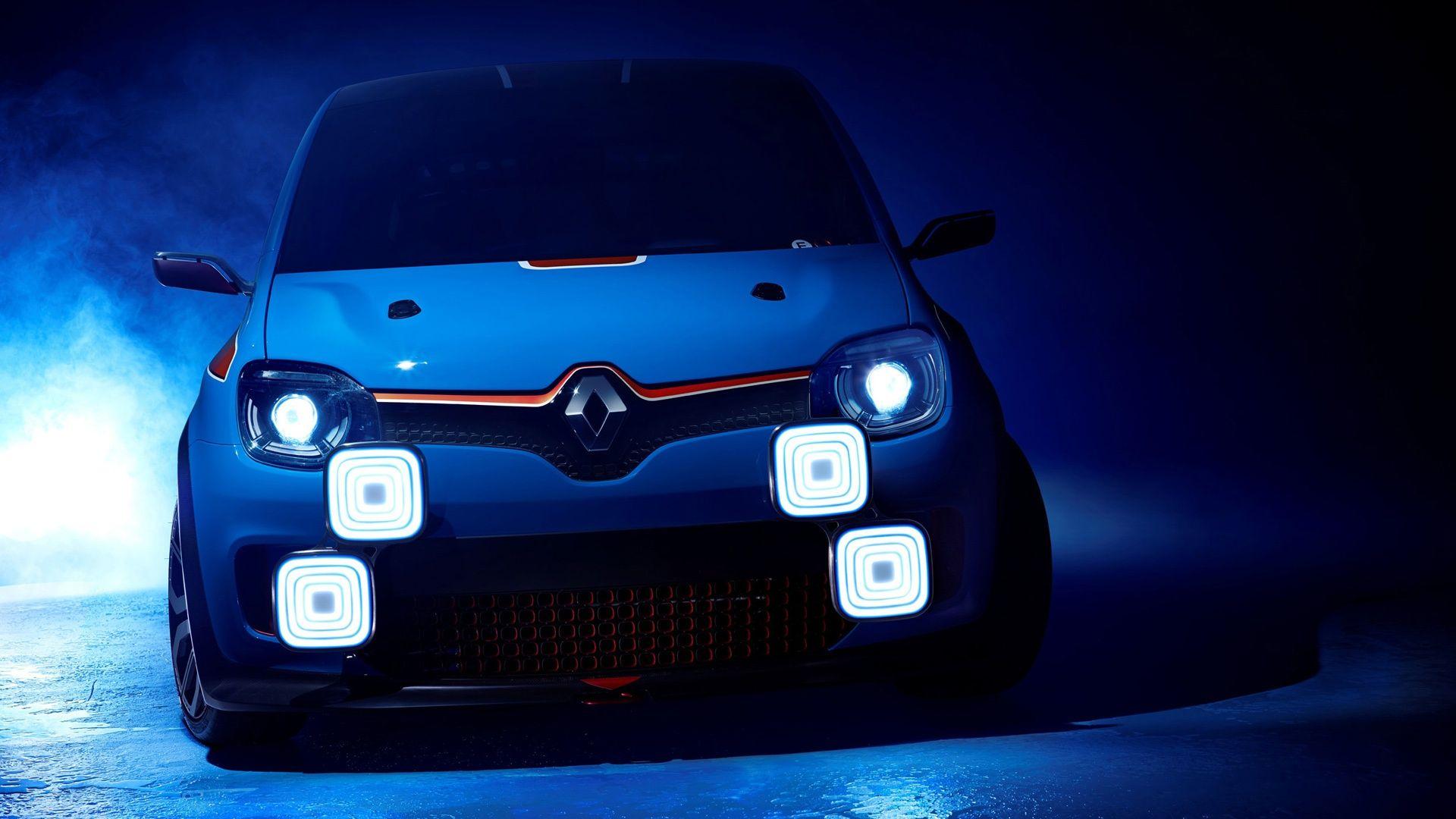 Blue renault twin run concept Cheap sports cars, Concept