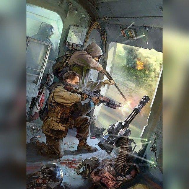 Apocalyptic Soldier Pics: Just,shoot! #artwork #wallpaper #fanart #conceptart